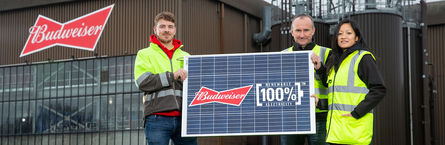 We're pushing towards 100% renewable electricity with the largest unsubsidized renewable solar deal in UK history