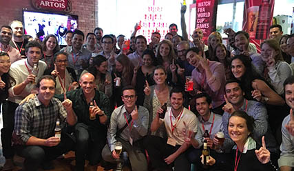 A Day In The Life Of An AB InBev Intern