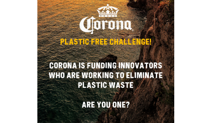 Corona launches 'Plastic-Free Challenge' to fund and pilot new ways to reduce plastic across global supply chains