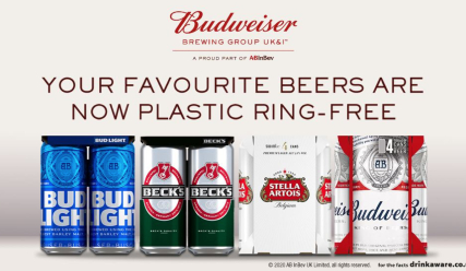 We didn't put a ring on it. Here's what's replaced our plastic rings in the UK!
