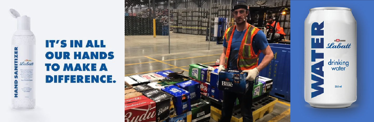 Labatt, Budweiser and Stella Artois bringing support, relief to Canadians impacted by COVID-19