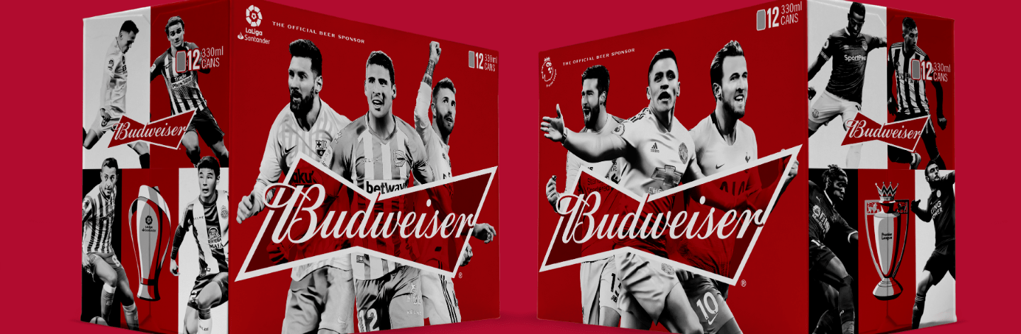 Budweiser announces multi-year global partnerships with the Premier League and LaLiga